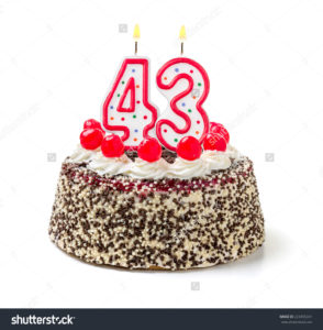 stock-photo-birthday-cake-with-burning-candle-number-223455241